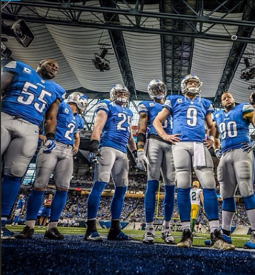 Photo Credit @gavinsmithphoto and  @detroitlionsnfl