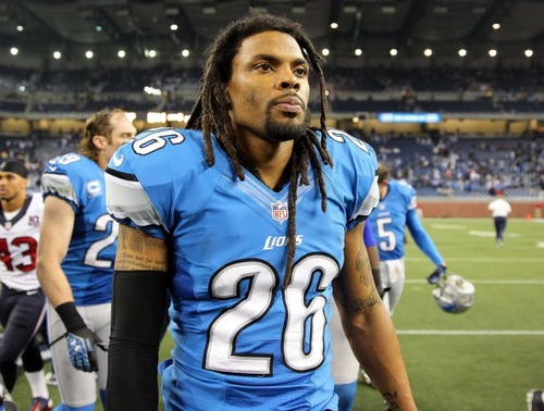 Louis Delmas was released by the Lions on Thursday. The Lions hope to come to terms with the safety again at a lower rate after he tests the market.