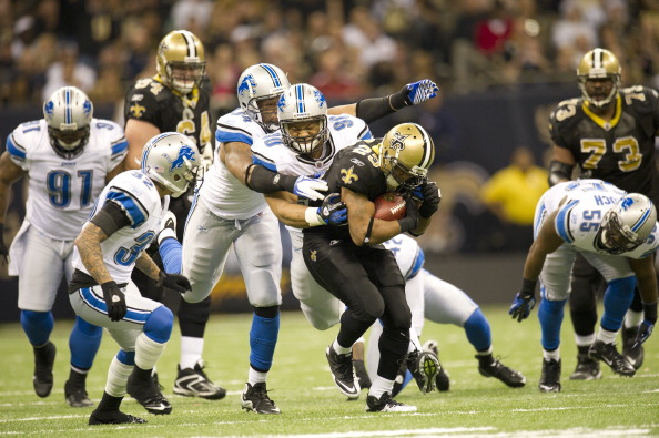 New Orleans Saints vs Detroit Lions, 2012 NFC Wild Card Playoffs