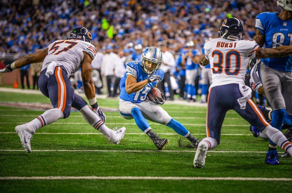 Lions WR Golden Tate on the Jarvis Landry Deal, Wanting an Extension with Detroit
