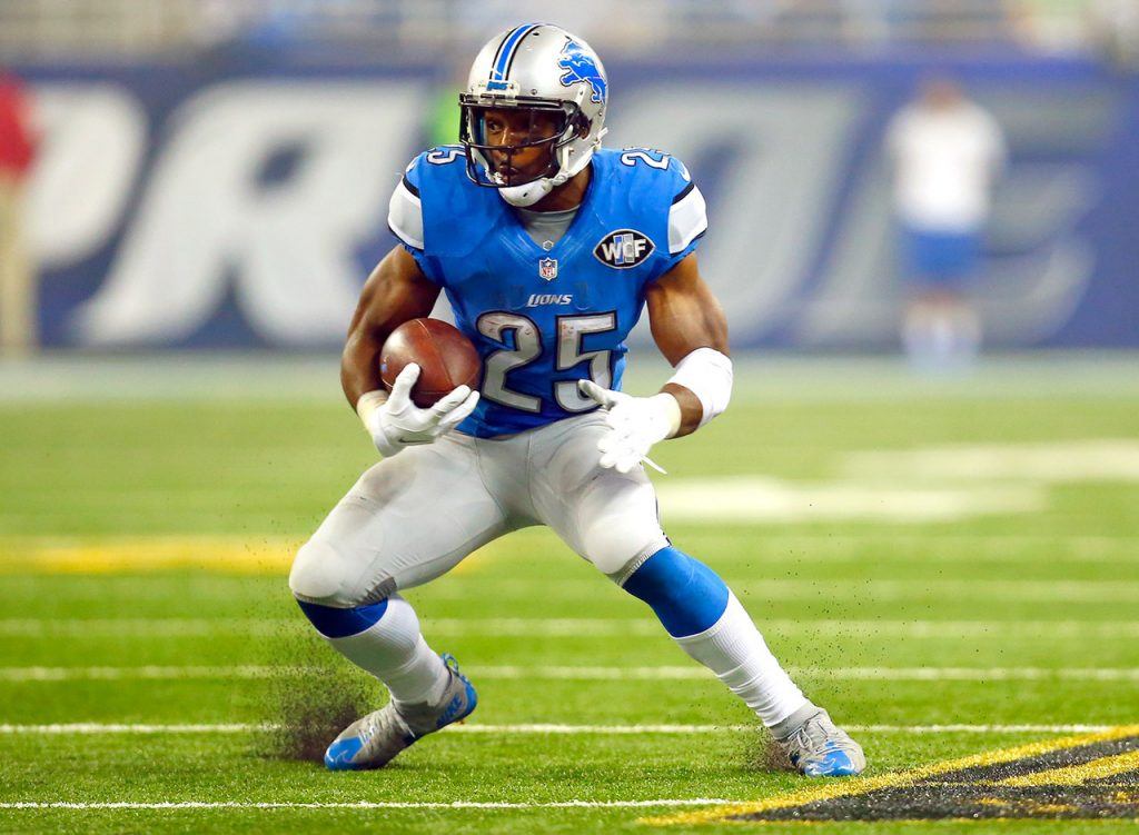 Look for More Theo Riddick in the Red Zone in 2017 for the Lions
