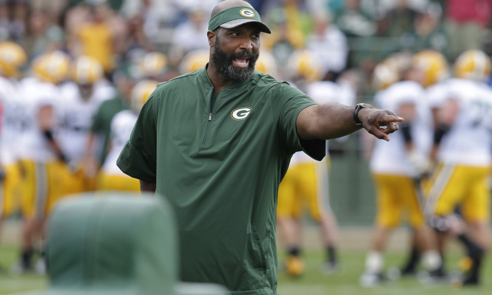 Lions Chat with Packers' Associate Head Coach Winston Moss About Head Coaching Spot